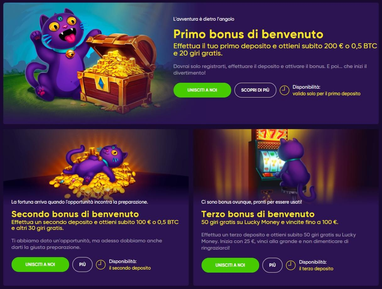 Bao Casino bonus