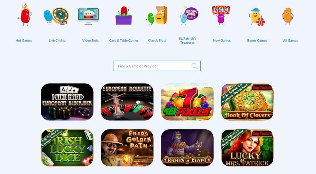 Giochi disponibili su Jellybean